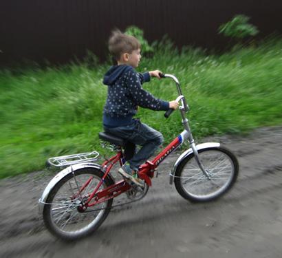 Лето, велосипед