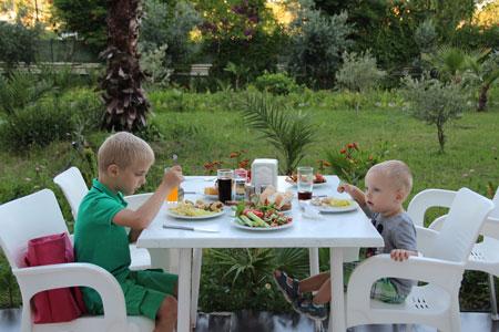 Турция, отдых с детьми