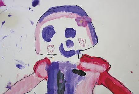 Детские рисунки в сценарии праздника для детей