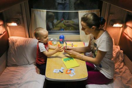 В отпуск с ребенком 1,5 лет