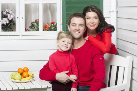 Звездная семья Екатерина Волкова и Андрей Карпов