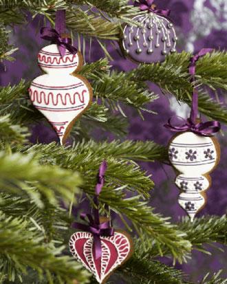Имбирное печенье на елку