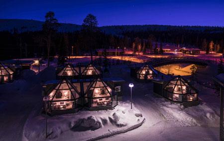 Новогодние туры в Финляндию: цены, отели, горнолыжные курорты Рука и Пюхя-Луосто