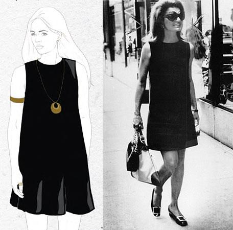 Платье черное маленькое своими руками