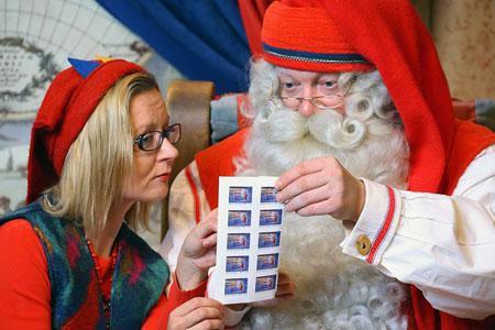 Рованиеми, почта Санта-Клауса