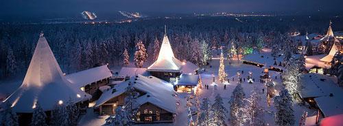 Финляндия, резиденция Санта-Клауса