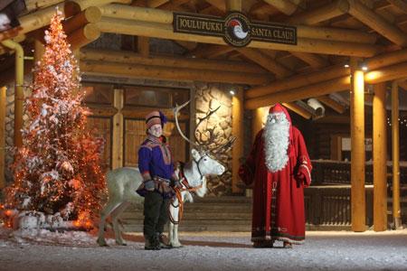 Туры в Финляндию, офис Санта-Клауса