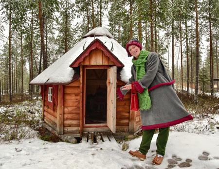 Поездка в Финляндию, Йоулукка