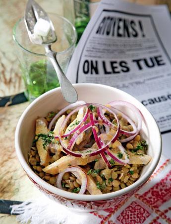 французские салаты и их рецепты