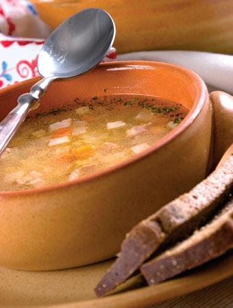 Гороховый суп, рецепт