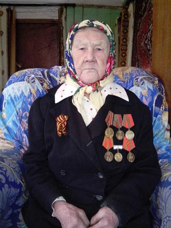 Плотникова (Хозяшева) Анна Мокеевна