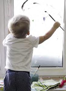 Как сделать витраж на окне
