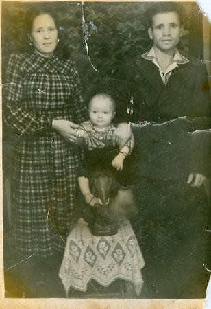 Самый ранний снимок мамы