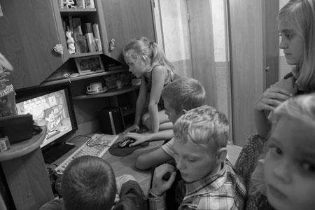 Многодетная семья в Москве