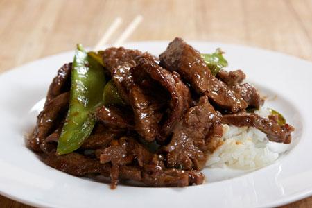 Рецепт говядины со стручковым горохом