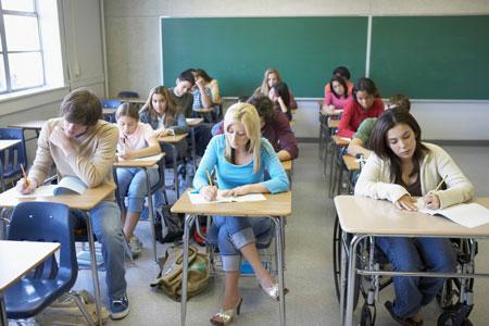 Тестирование в американских школах