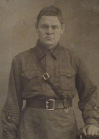 В.Н.Богачев, фронтовое фото