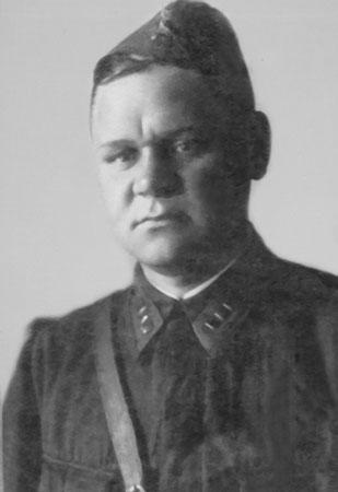 В.Н.Богачев, военное фото