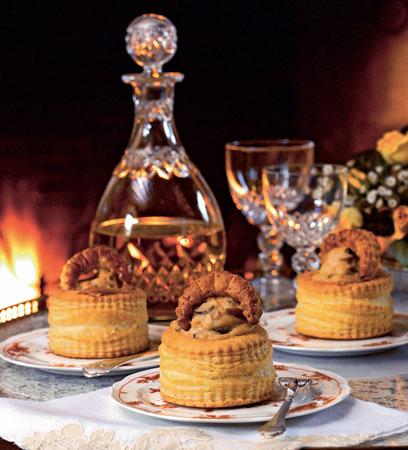 Французский рецепт, тарталетки с начинкой