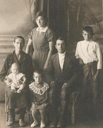 семья Шатиловых, 1937 год
