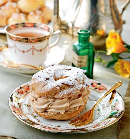 Заварные пирожные, рецепт