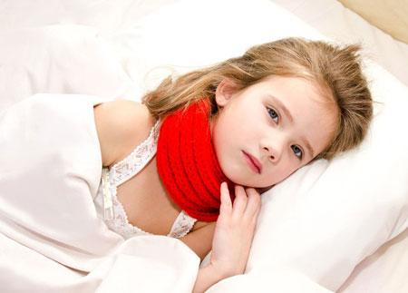 Боли в горле при ангине можно облегчить с Тонзилотрен