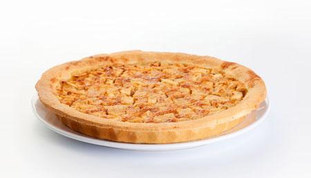 Пирог из песочного теста с миндалем