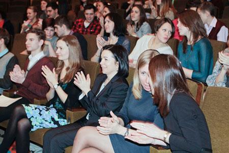 Вручение дипломов программы в Москве