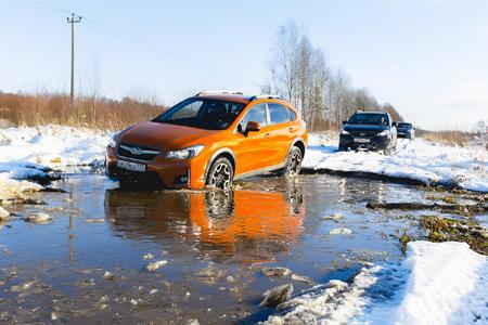 Тест-драйв автомобиля Subaru XV