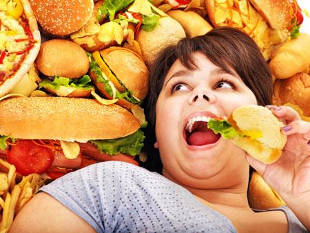 Причины ожирения от фастфуда у детей и взрослых