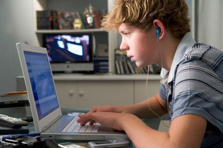 Школьники в сети Интернет