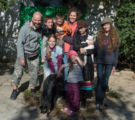 Многодетная семья Дмитрия Емца