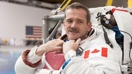 Первый канадец в космосе