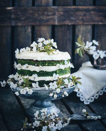 Рецепт торта со шпинатом