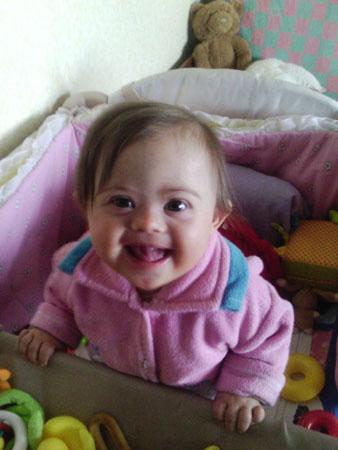 Дочке с синдромом Дауна 11 месяцев