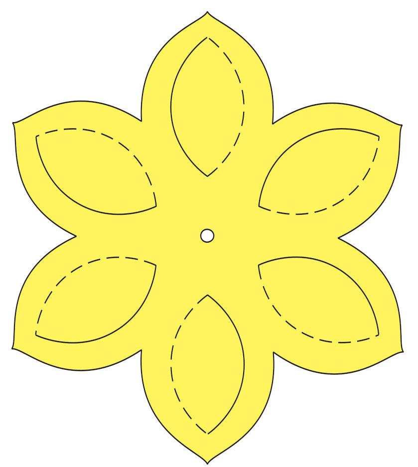 Цветы своими руками ватман 706