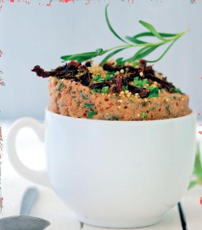 Рецепт несладкого кекса за 5 минут