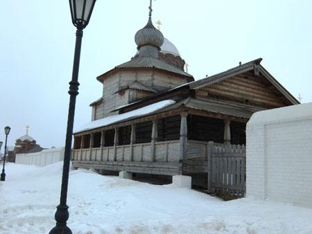 Достопримечательности вокруг Казани, Троицкая церковь