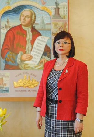 Ректор САФУ Кудряшова Елена Владимировна