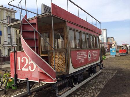 Трамваи Казани