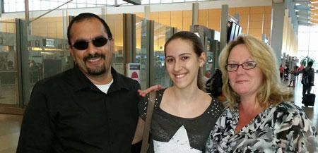 Host родители и наша студентка