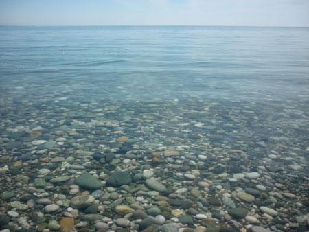 Отдых в Пицунде, море