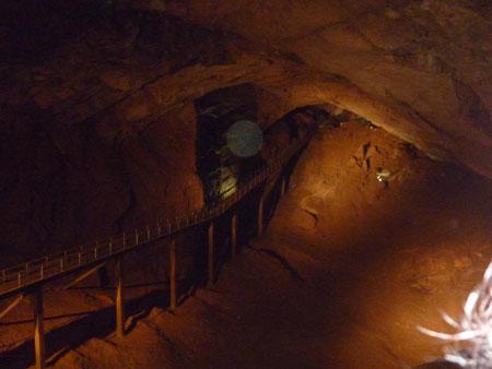 Пещера в монастыре, Новый Афон
