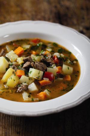 Гуляш в мультиварке, рецепт супа
