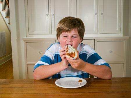 Снижение веса у детей