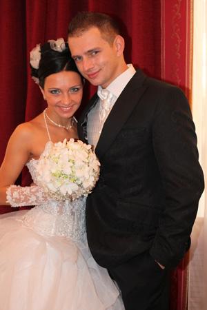 Дарья с мужем