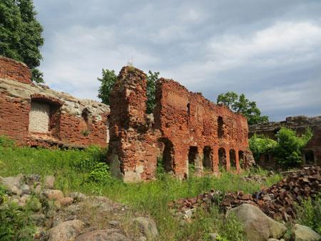Замок в Черняховске