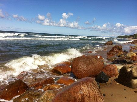 Море в Светлогорске