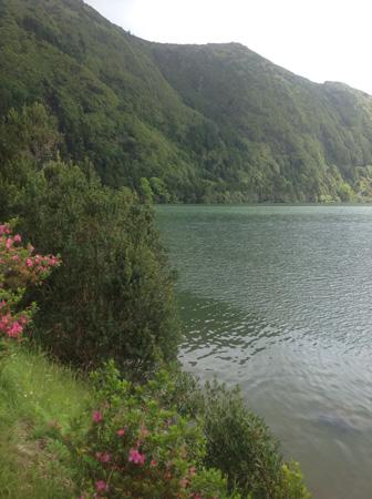 Голубое озеро, Sete Cidades