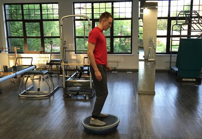 Протрузия, упражнения на нестабильных опорах
